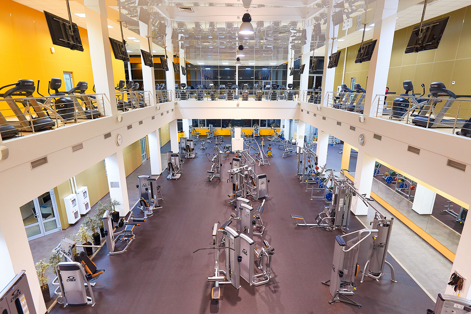 Тренажерный зал Gold Fit & Spa