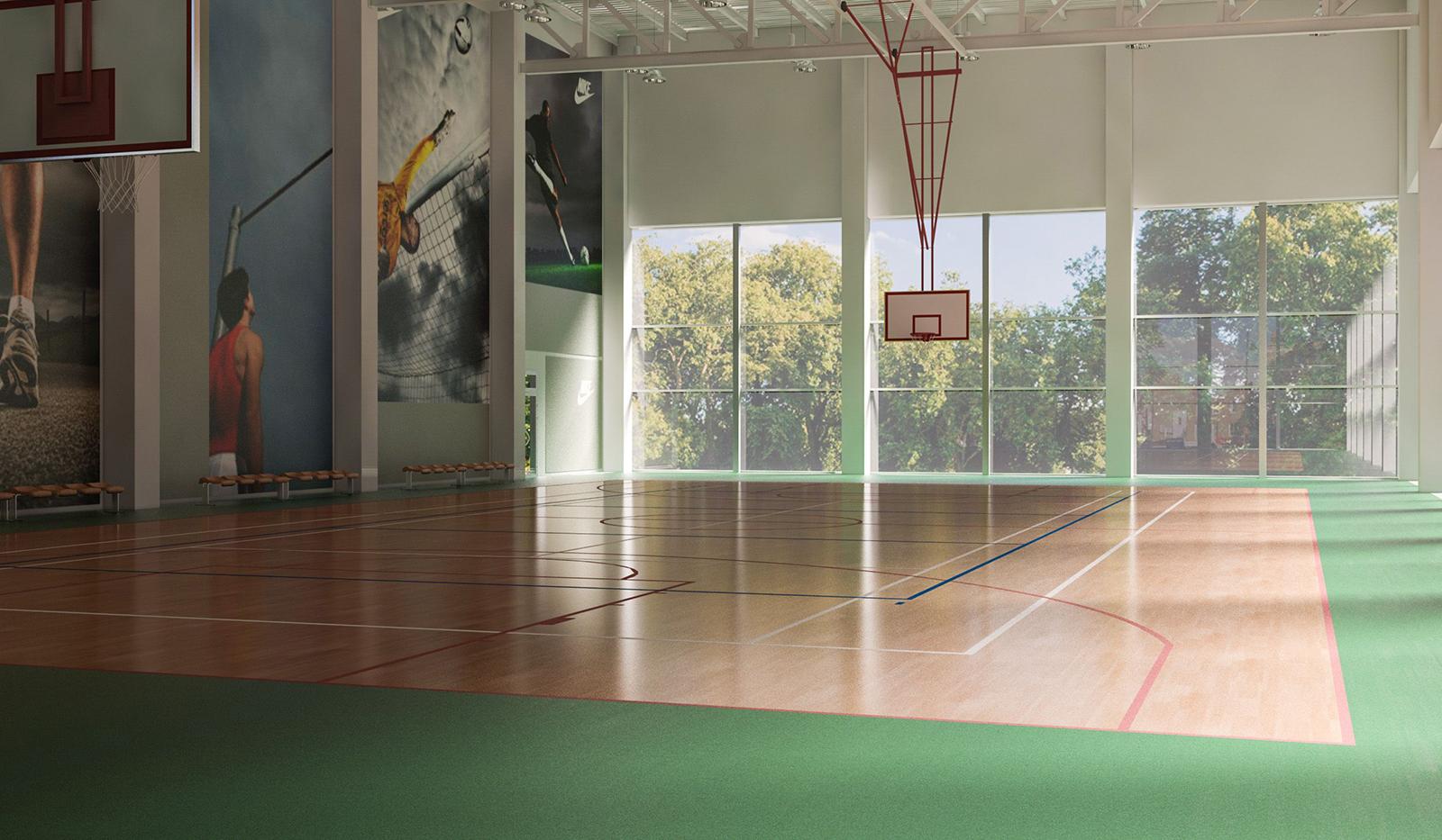 Фитнес-клуб Kinext: игровой корт