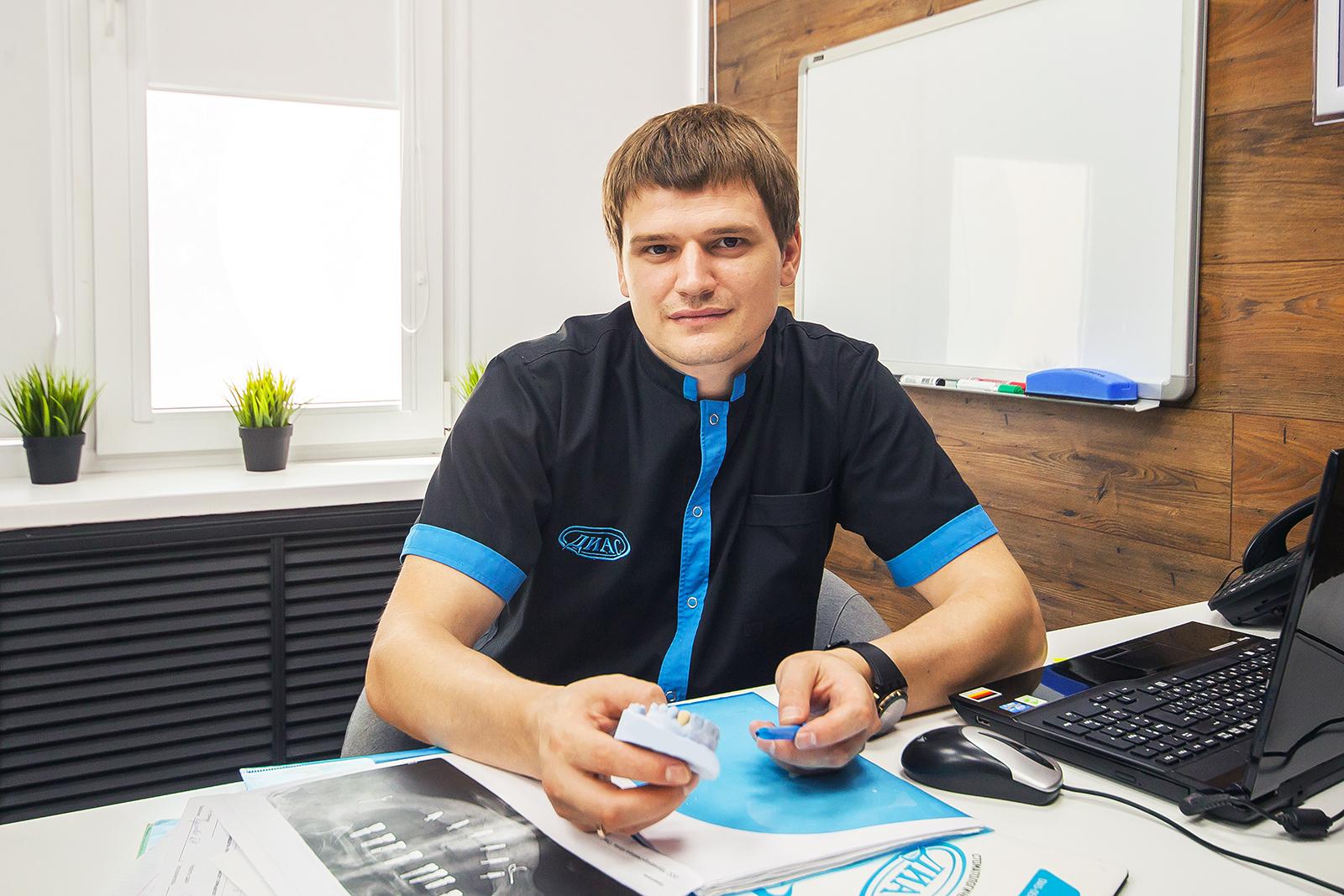 Герман Валентинович Таран, главный врач клиники «Диас»