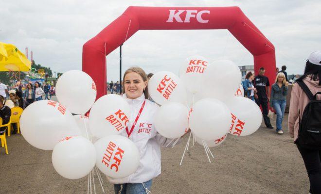 Открылась регистрация  на KFC batlle: волонтерство