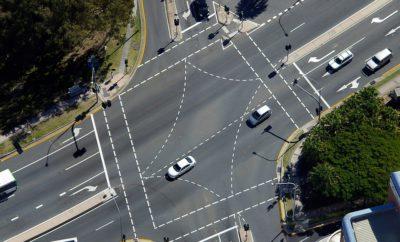 дороги автомобили перекресток