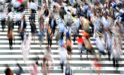 пешеходы люди движение