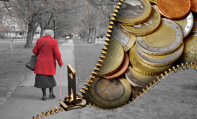 Старые Люди Пенсионеры Пенсия Деньги