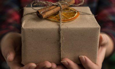 Посылка Празднование Рождество