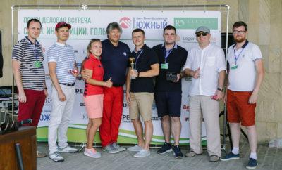 Победители Турнира с тренерами и организаторами
