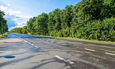 дорога трасса дорожная разметка