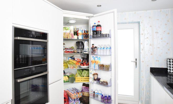 Холодильник Открытая Дверь