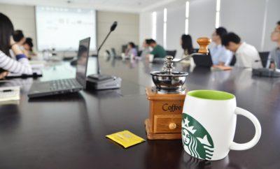 офис кофе старбакс