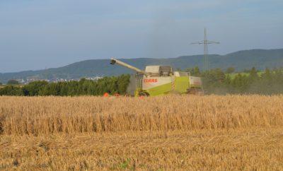 Урожай Трактор Сельское Хозяйство Поле Солома