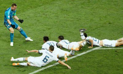 матч россия- испания