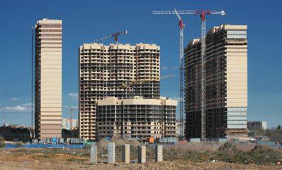 Стройка Дом Кран Строительство Город