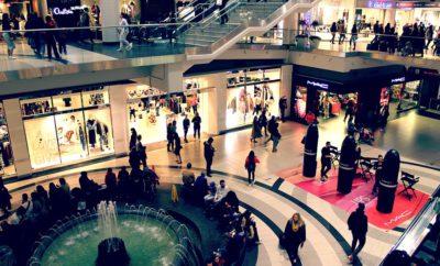 торговый центр люди
