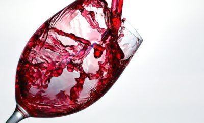 Вино Заставка Стекло Красный Алкоголь Пить