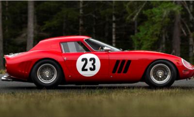 Ferrari 250 GTO красный