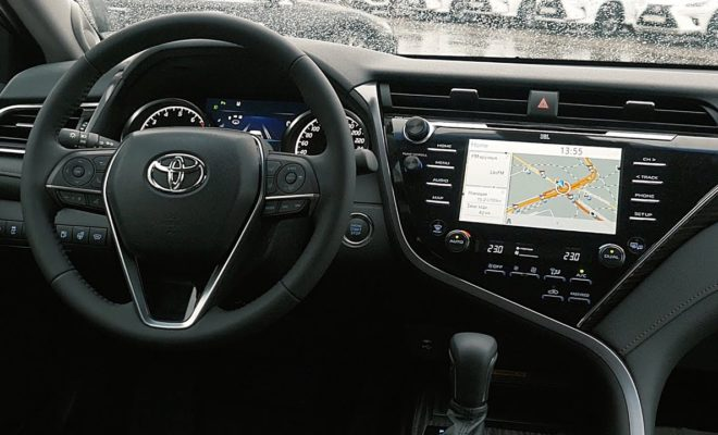 Toyota Camry руль