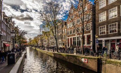 амстердам люди канал