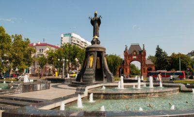 краснодар памятник святой екатерине