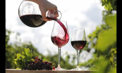 вино бокал виноград