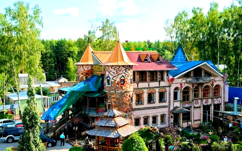 отель замок снов в домодедово