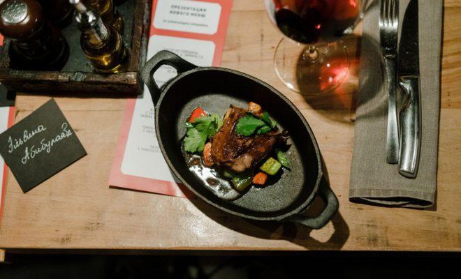 Ресторан «Скотина» презентовал обновленное меню