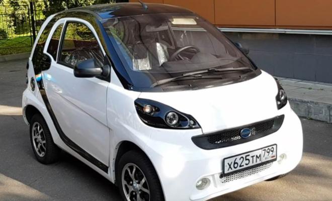 На заводе в Адыгее произвели первый электромобиль