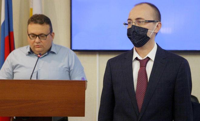 Антон Смертин стал замглавы по внутренней политике Краснодара