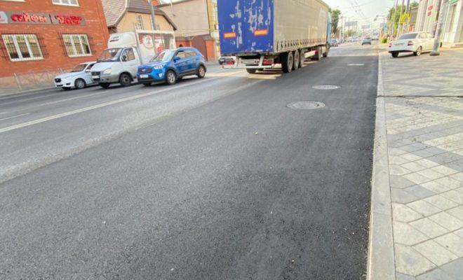 В Краснодаре ямочный ремонт выполнен на 66 тыс. кв. м дорог