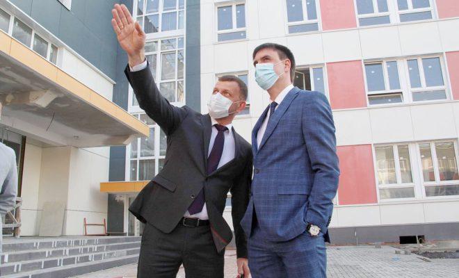 На 97% готова школа по улице Марины Цветаевой