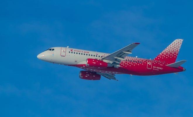 «Россия» назвала Superjet 100 в честь Геленджика