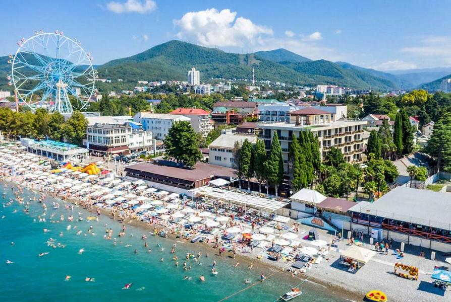 Отели и гостиницы Черноморского побережья загружены на 80%